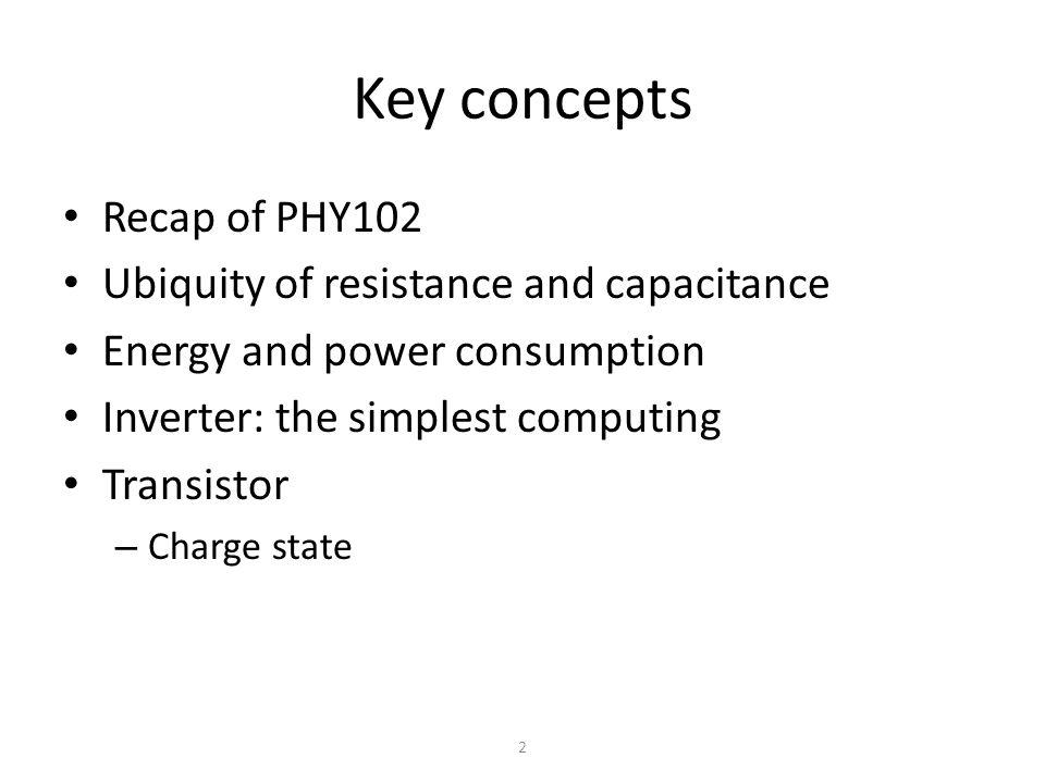 13 Are resistors and capacitors enough.