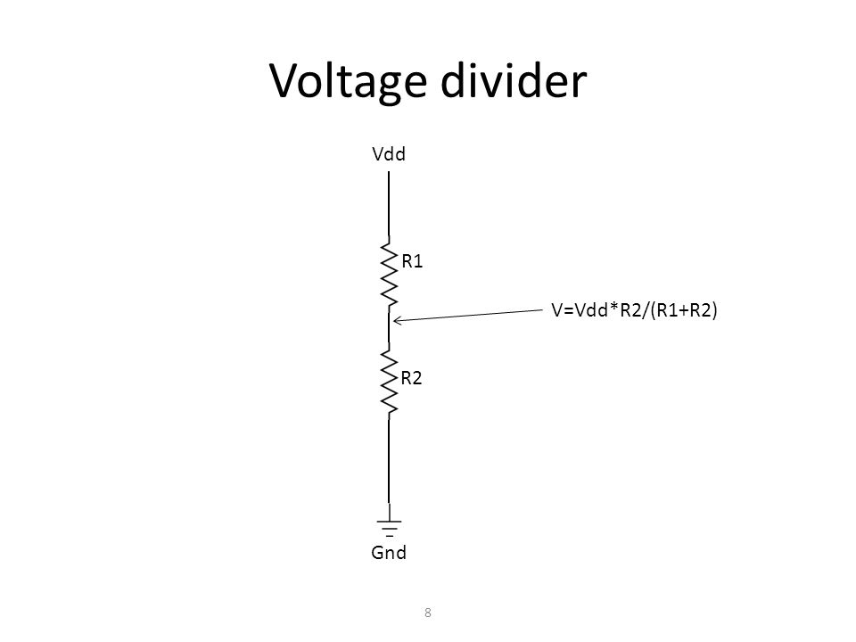 Capacitor Charge holder Capacitance (capability to hold charge) – Charge per volt 9 + - V C=Q/V