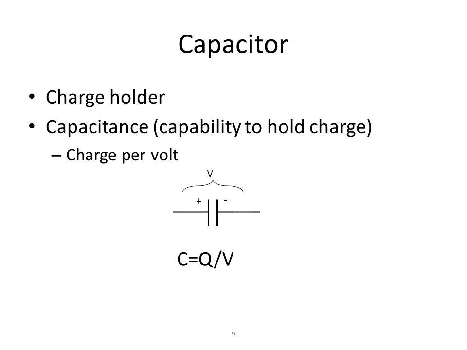 Capacitance is everywhere 10