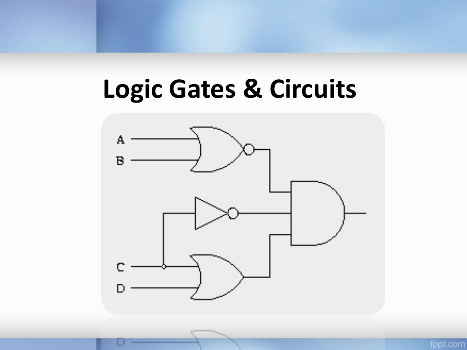 Logic Gates & Circuits