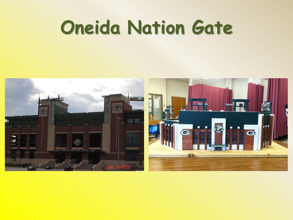 Oneida Nation Gate