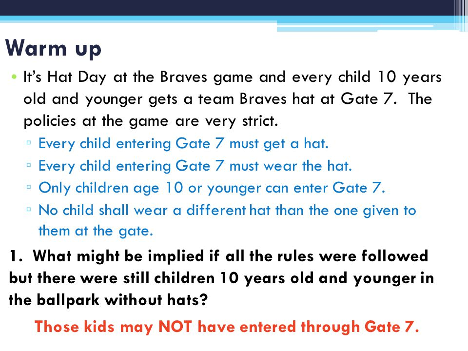 Warm up Its Hat Day at the Braves game and every child 10 years old and younger gets a team Braves hat at Gate 7.