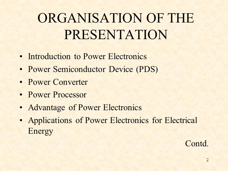 3 Emphasis of applications of Power Electronics in the area of Safety, Conservation, Power Quality and Renewable Sources Practical possible use of PE at home Trends of Power Electronics NaMPET : GOI Mission