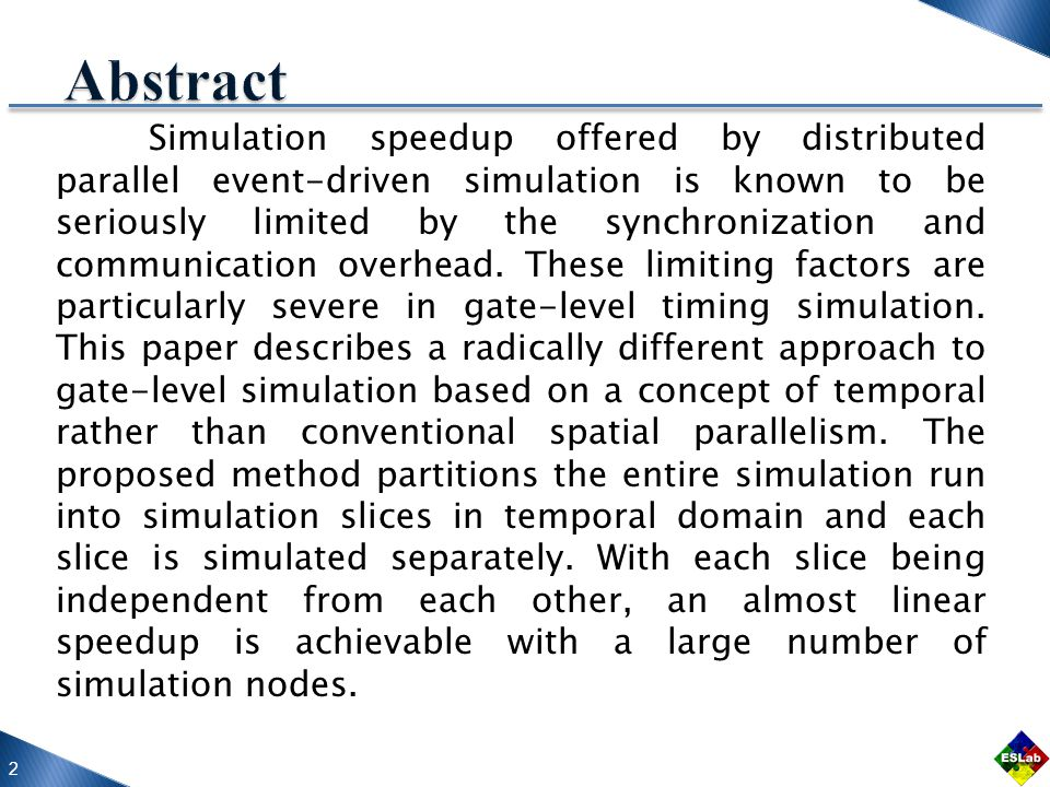 13 Conclusions This is accomplished by performing temporal partitioning of the simulation period.