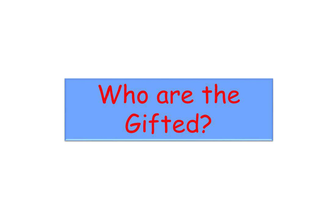 Who are the Gifted