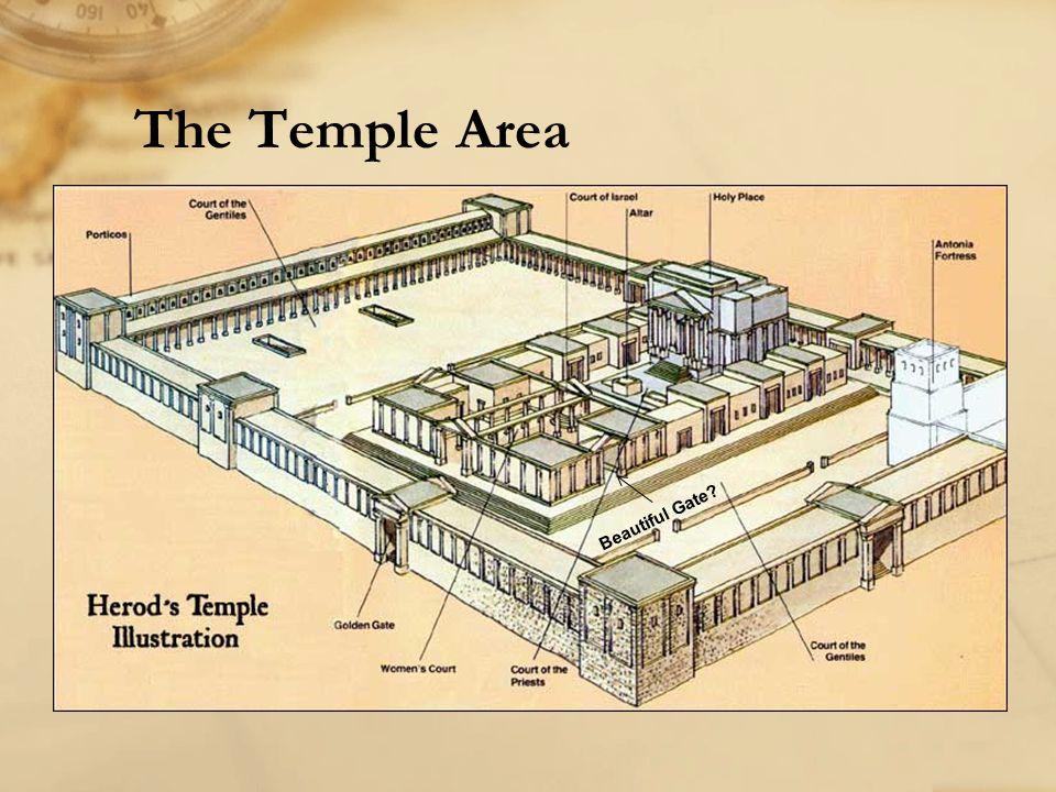 The Temple Area Beautiful Gate