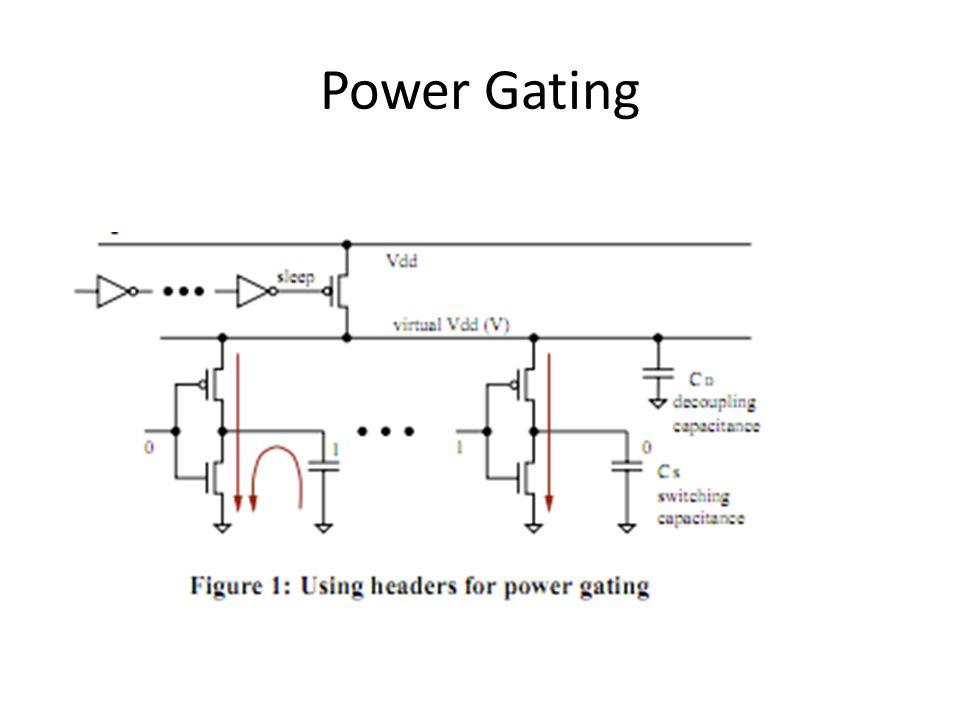 Power Gating