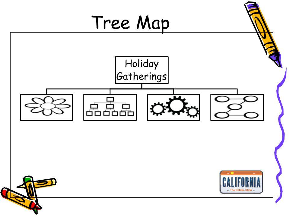 Tree Map Holiday Gatherings