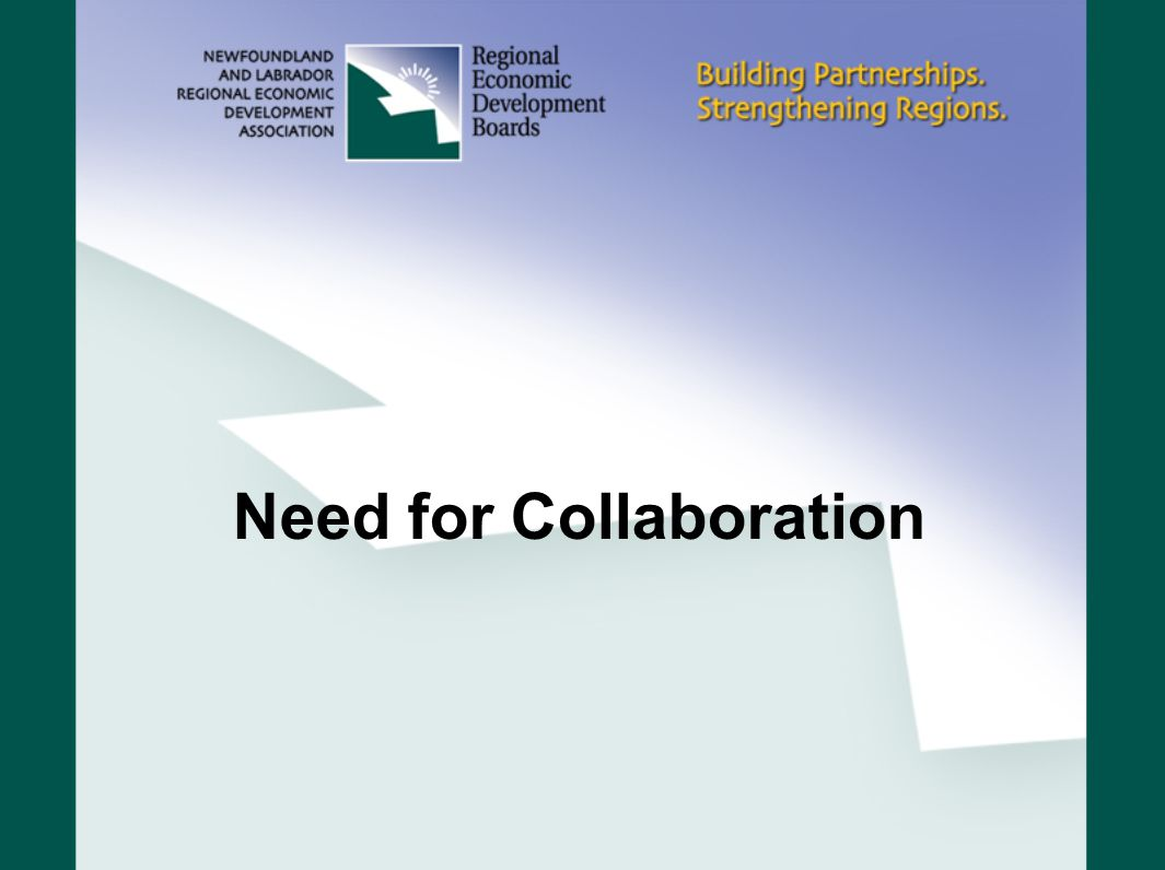 Need for Collaboration