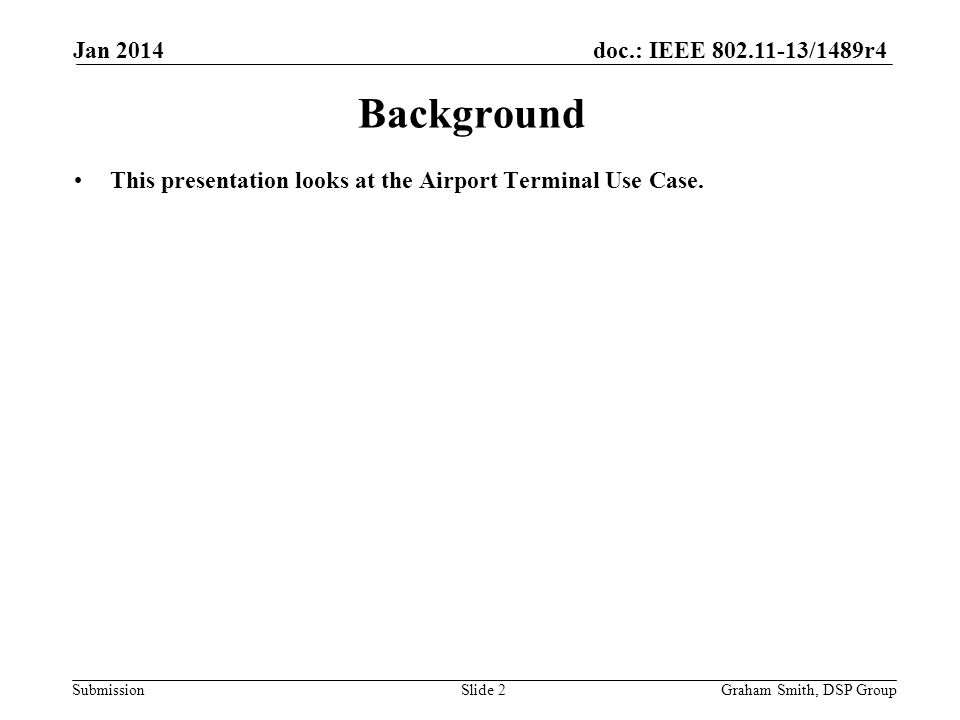 doc.: IEEE 802.11-13/1489r4 Submission Need to check if the numbers and distribution of users is valid.