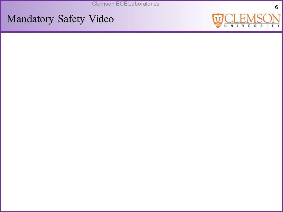 57 Clemson ECE Laboratories LABORATORY 10 – FIELD EFFECT TRANSISTORS