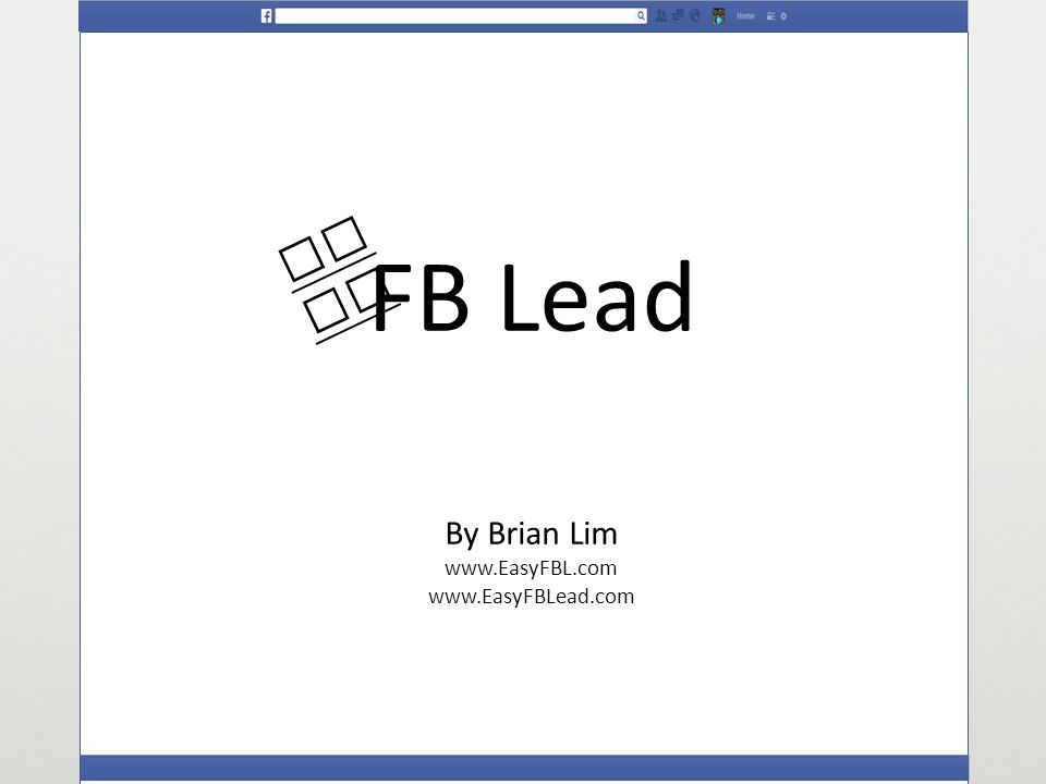 I will help you to generate LEADS from Facebook at controllabl e cost and measureable ways.