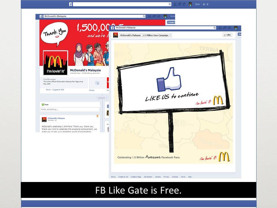 FB Like Gate is Free.