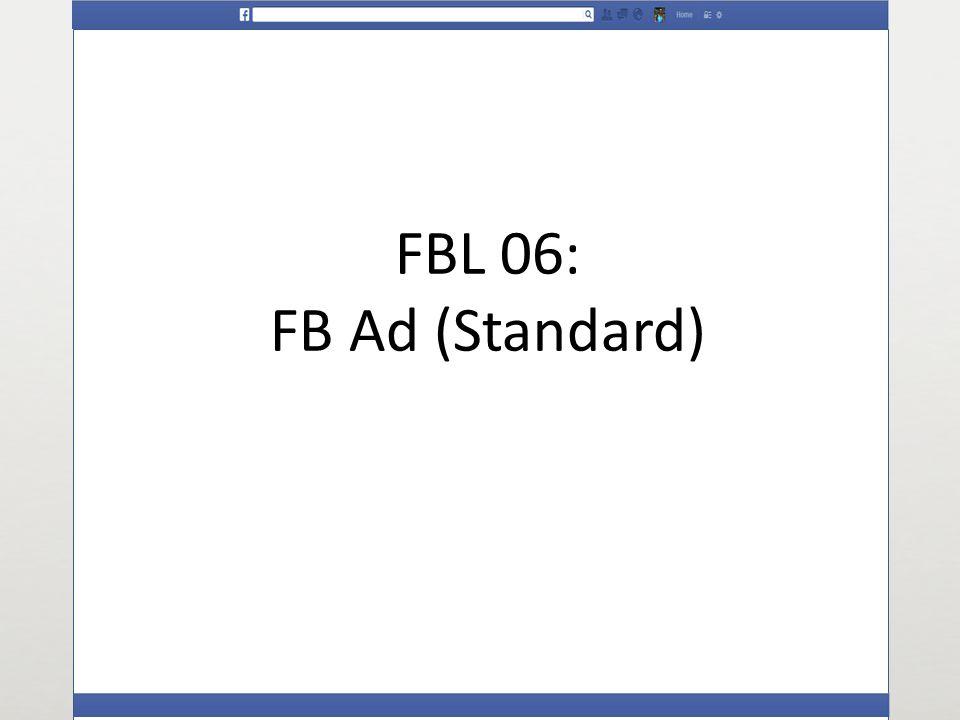 FBL 06: FB Ad (Standard)