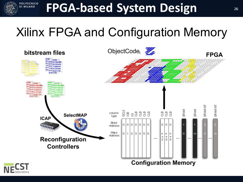 FPGA-based System Design Xilinx FPGA and Configuration Memory 26