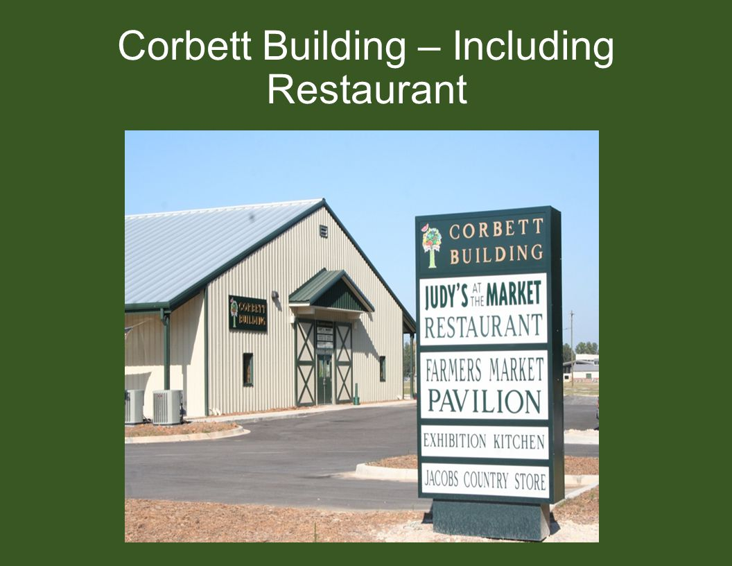 Corbett Building – Including Restaurant