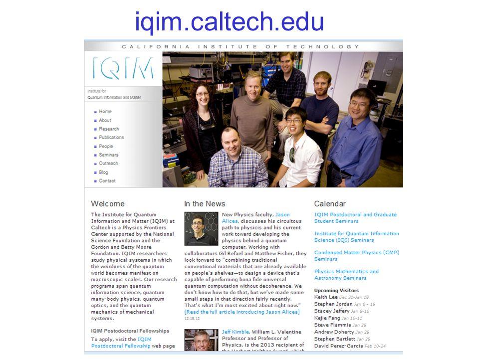 iqim.caltech.edu