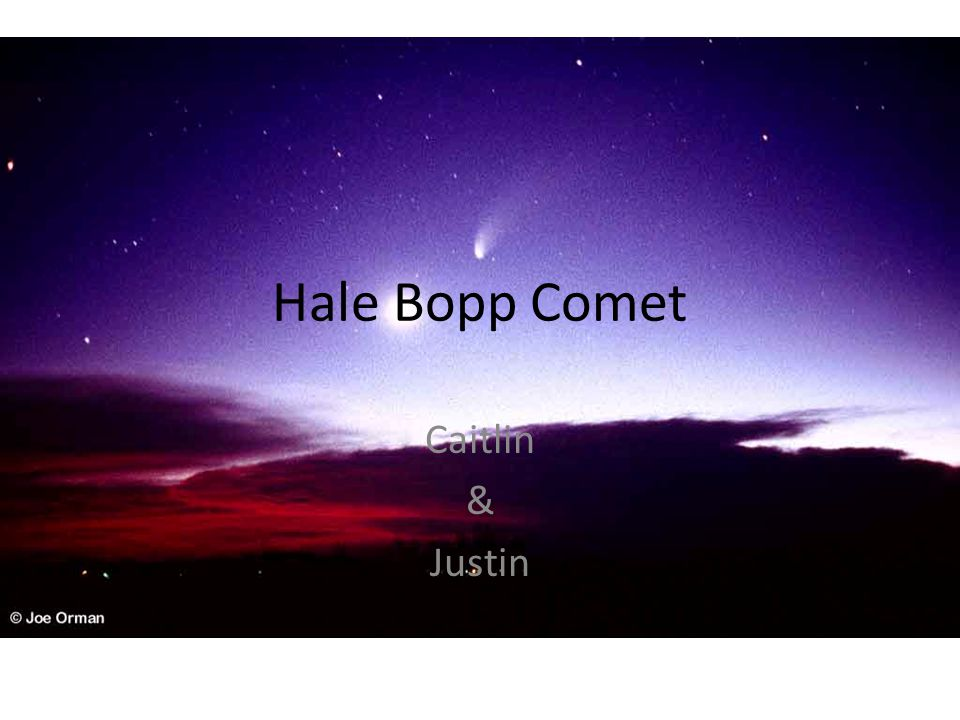 Discovery First observed on July 23, 1995.Most widely observed comet of the 20 th century.