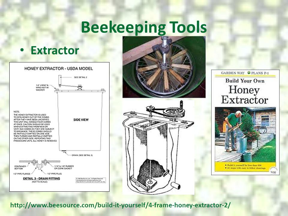 Beekeeping Tools Extractor http://www.beesource.com/build-it-yourself/4-frame-honey-extractor-2/