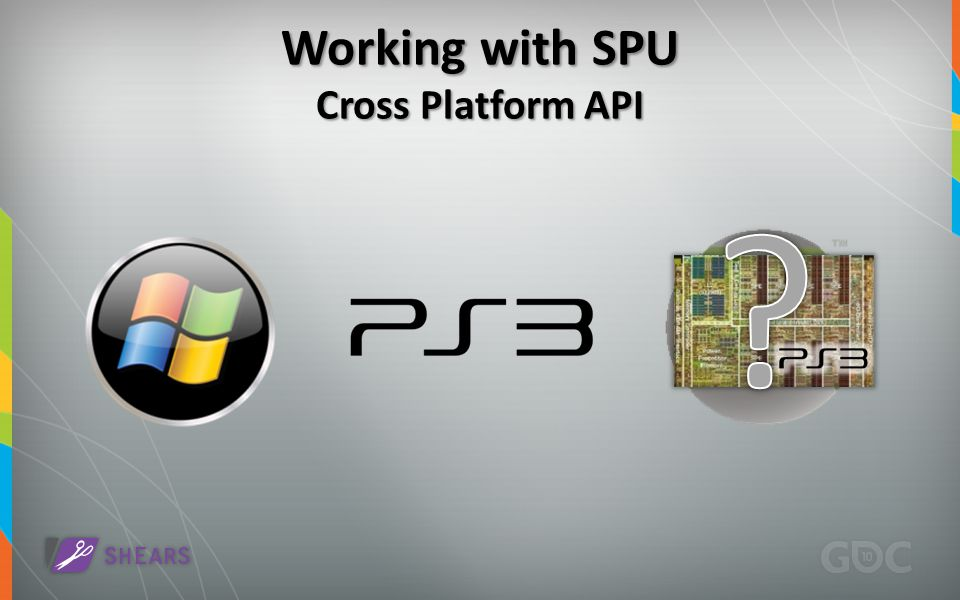 Working with SPU Cross Platform API