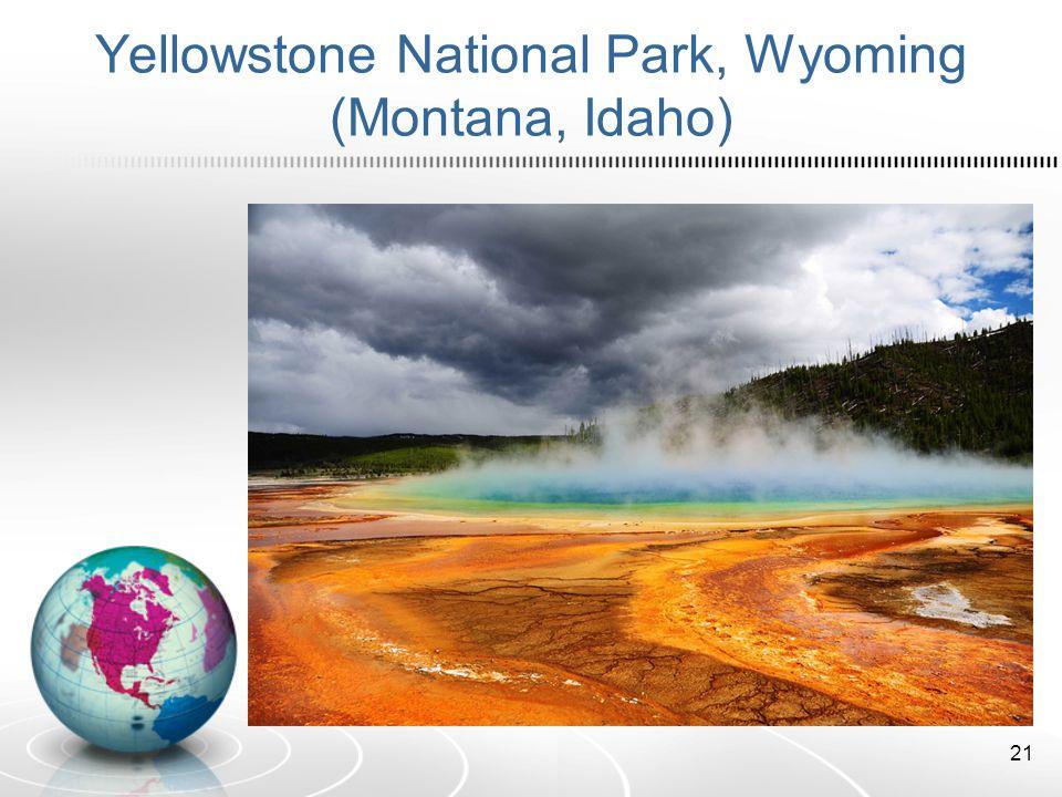 Yellowstone National Park, Wyoming (Montana, Idaho) 21