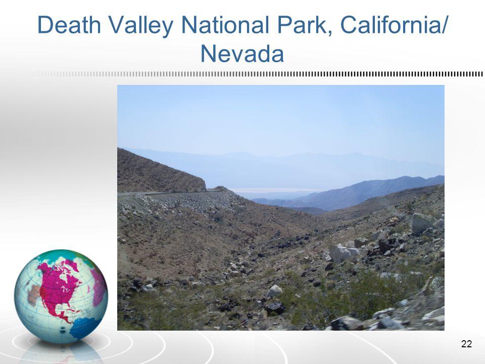 Death Valley National Park, California/ Nevada 22