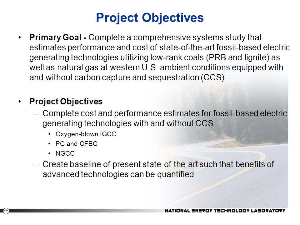 4 Project Overview Study Matrix Plant Type ST Cond.