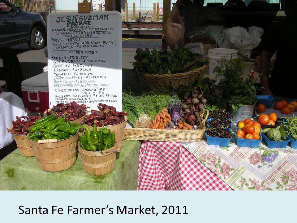Santa Fe Farmers Market, 2011