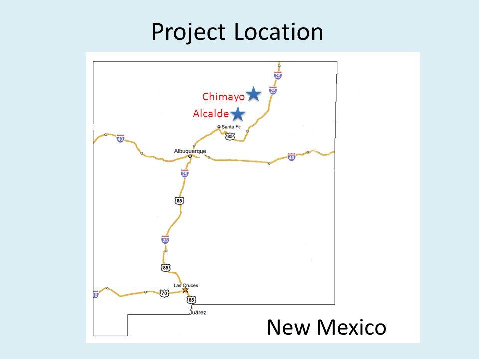 Project Location Chimayo Alcalde New Mexico
