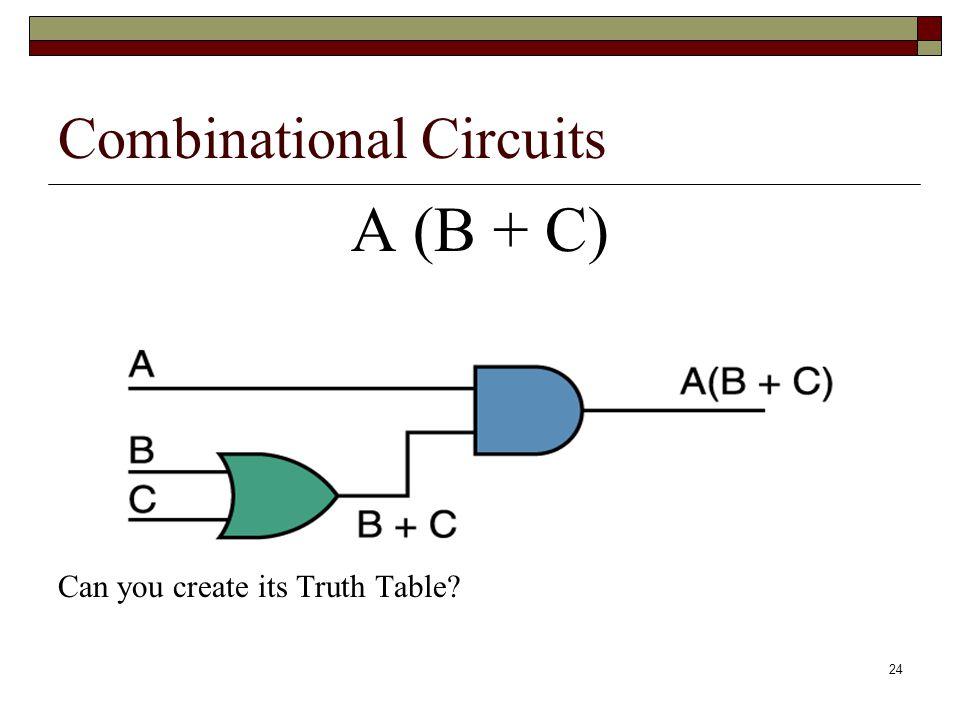 25 A (B + C) ABCB + CA(B + C) 000 001 010 011 100 101 110 111
