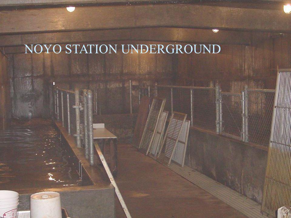 VAN ARSDALE FISHERIES STATION NOYO STATION UNDERGROUND