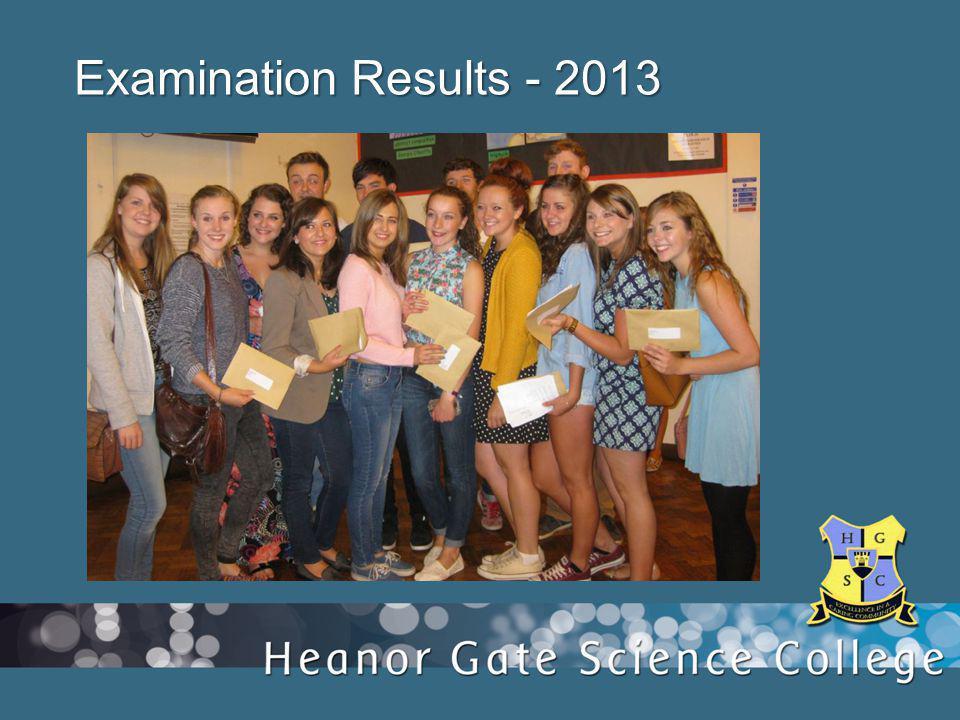 Examination Results - 2013