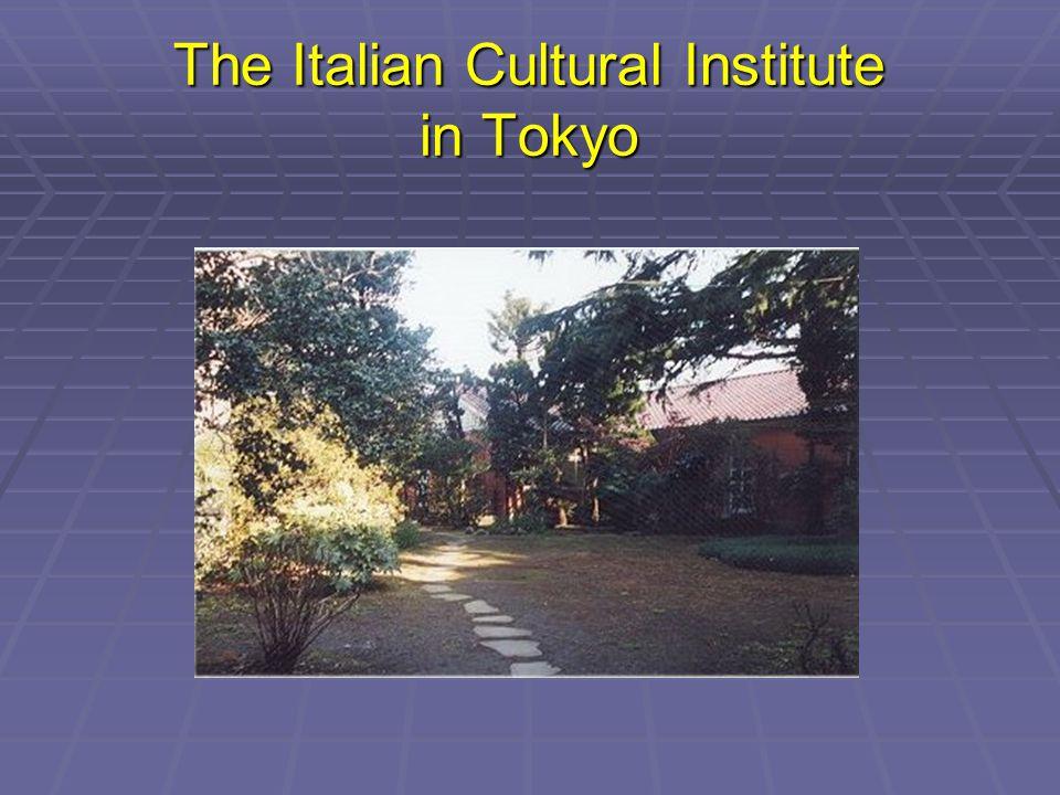 The Italian Cultural Institute in Tokyo