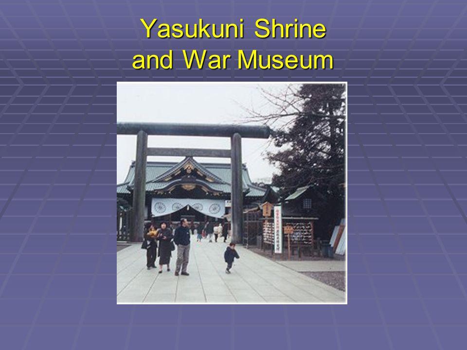 Yasukuni Shrine and War Museum