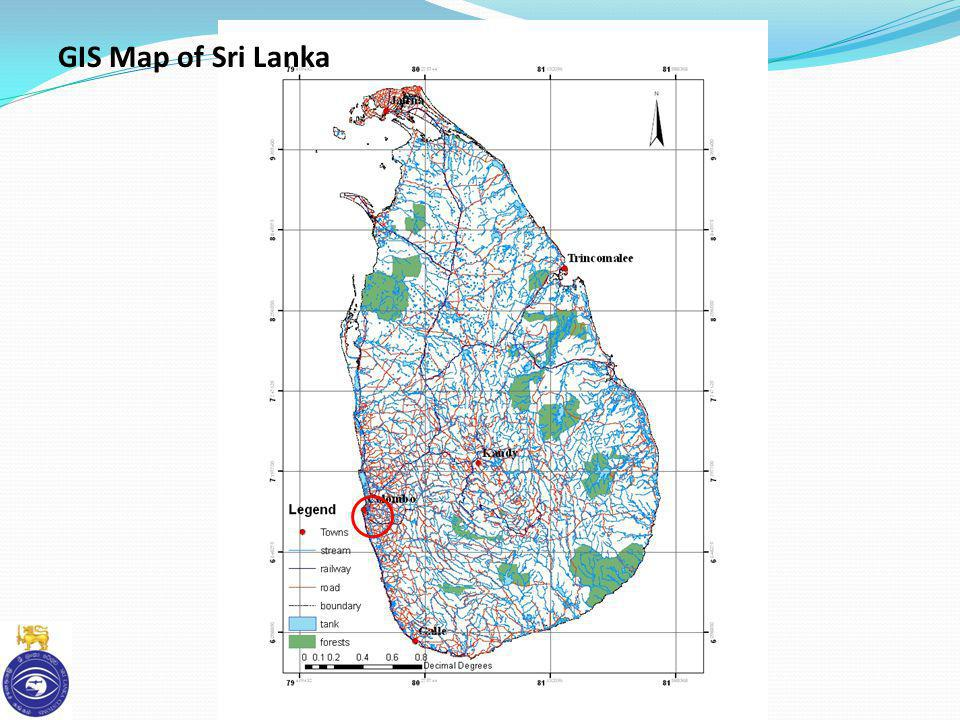 GIS Map of Sri Lanka