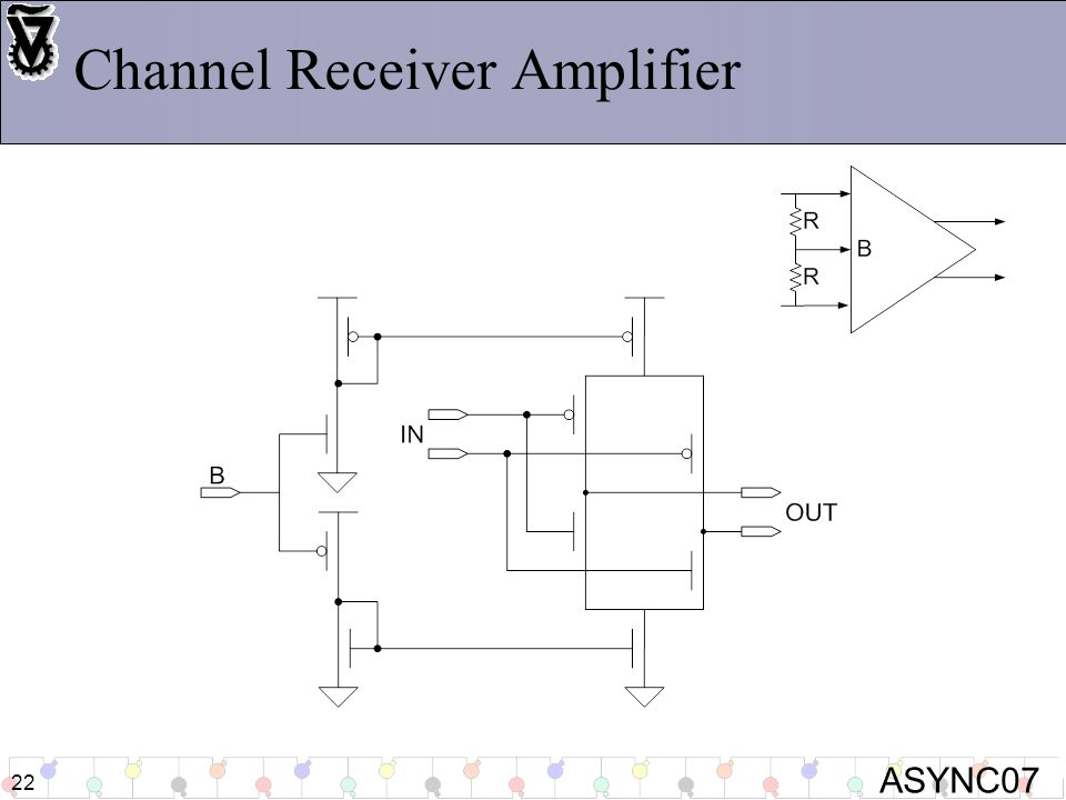 ASYNC07 22 Channel Receiver Amplifier