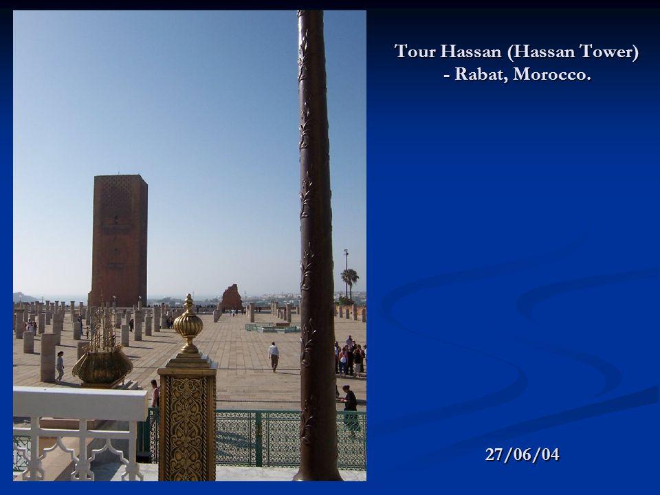 Tour Hassan (Hassan Tower) - Rabat, Morocco. 27/06/04