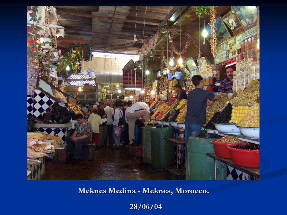 Meknes Medina - Meknes, Morocco. 28/06/04