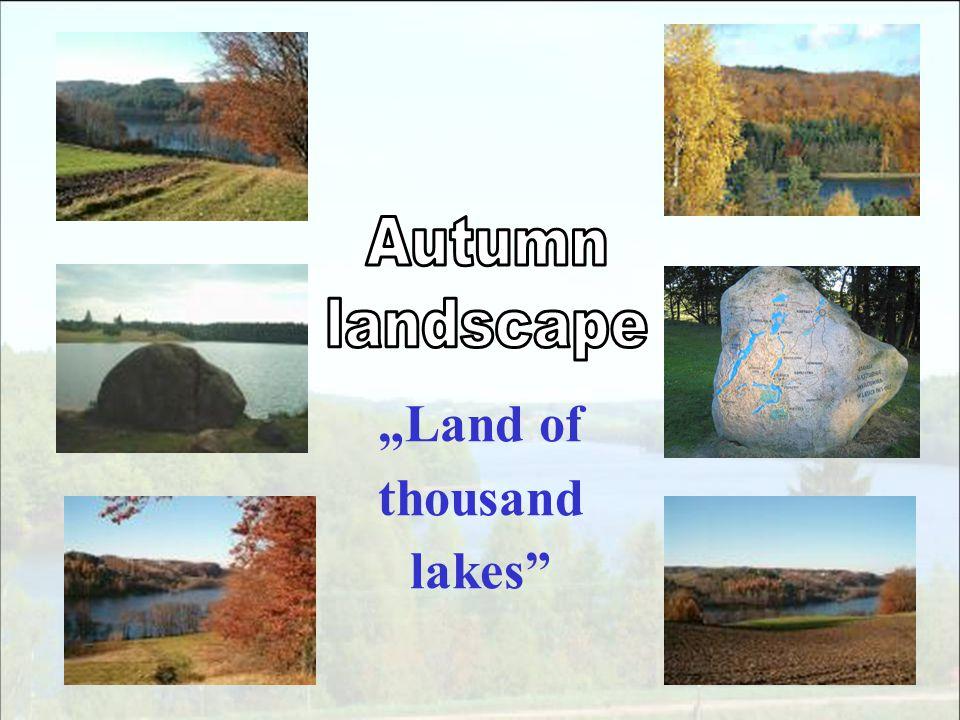Land of thousand lakes