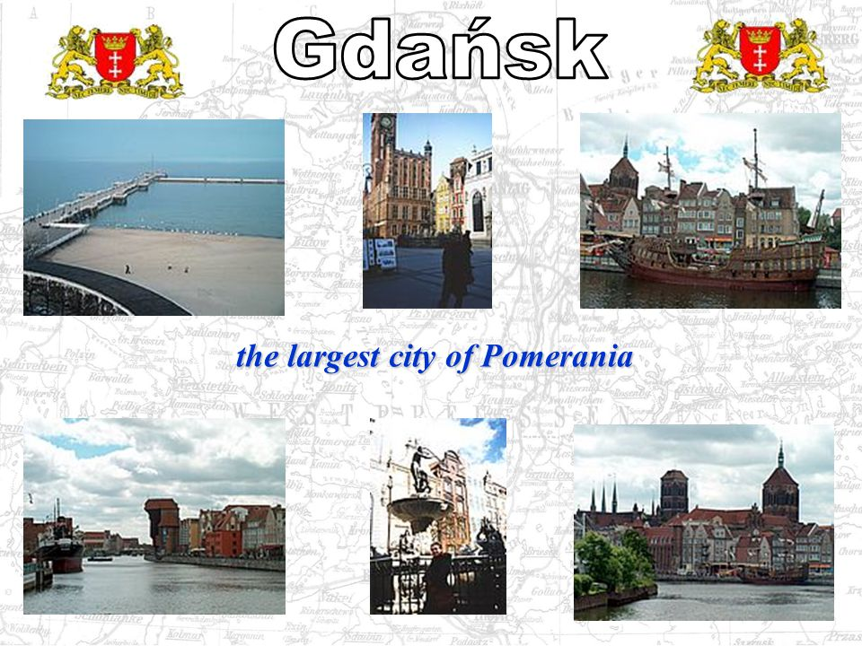 the largest city of Pomerania