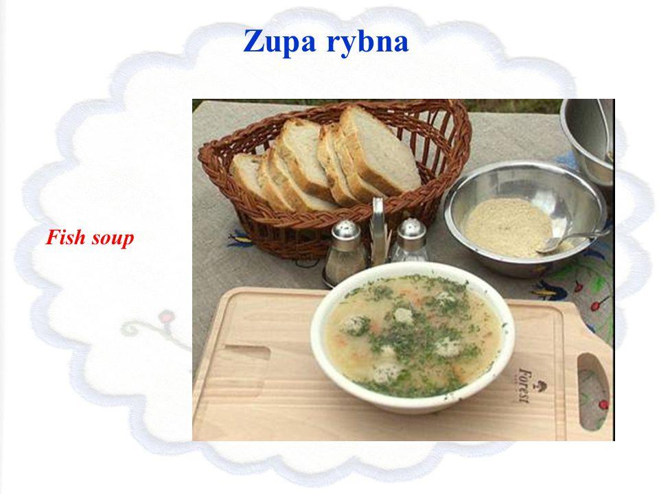 Zupa rybna Fish soup