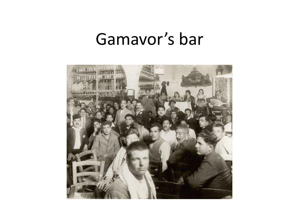 Gamavors bar