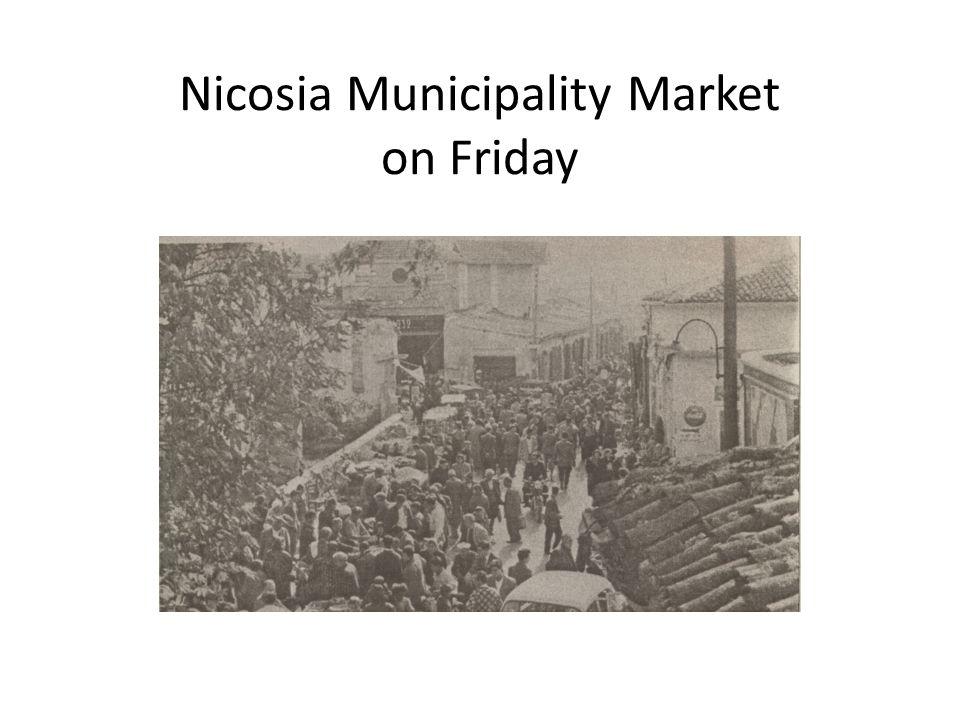 Nicosia Municipality Market on Friday