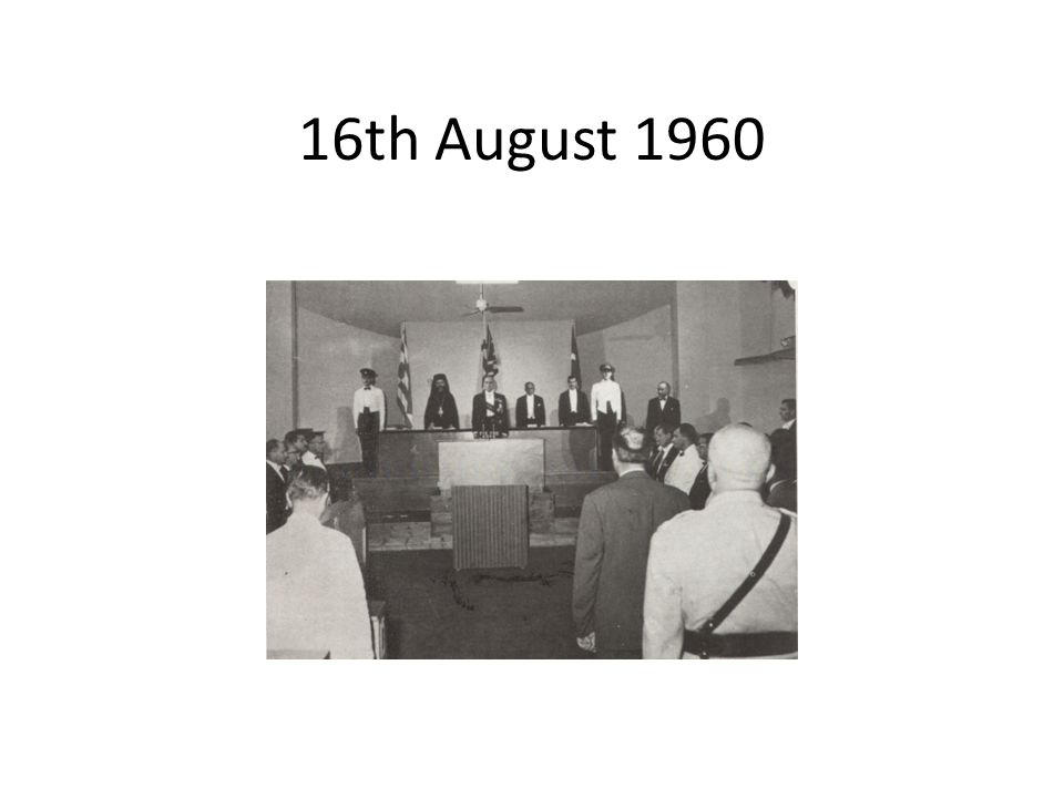 16th August 1960