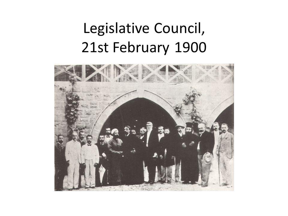 Legislative Council, 21st February 1900