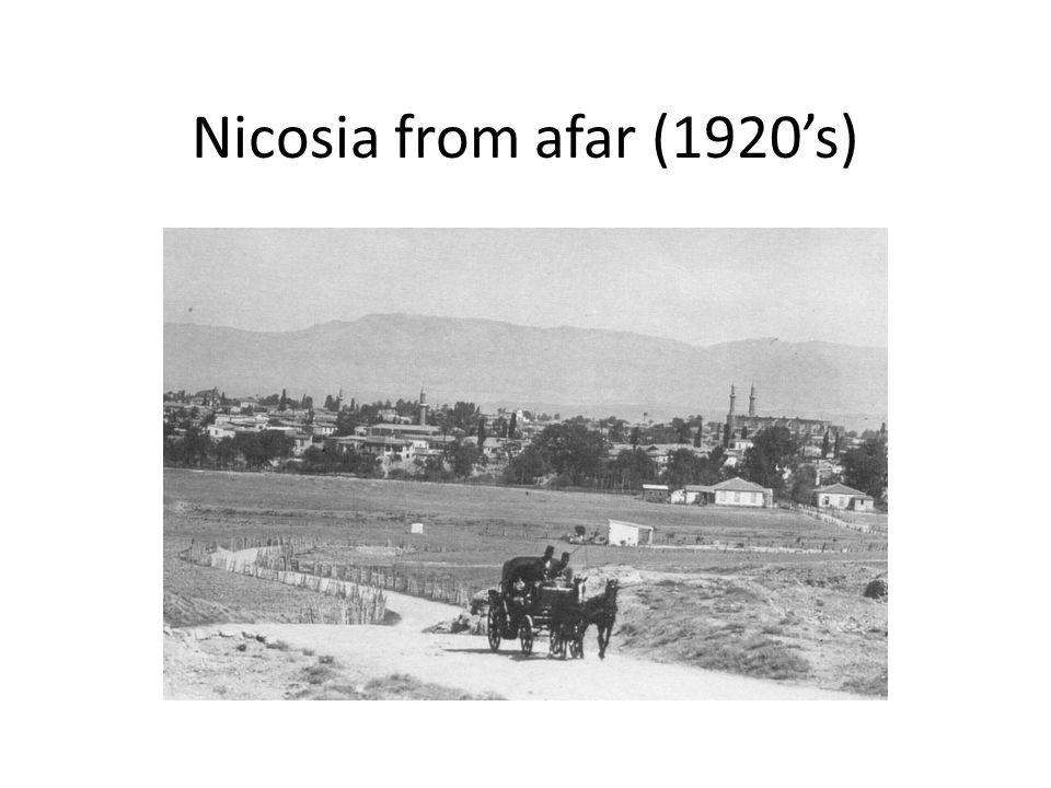 Nicosia from afar (1920s)