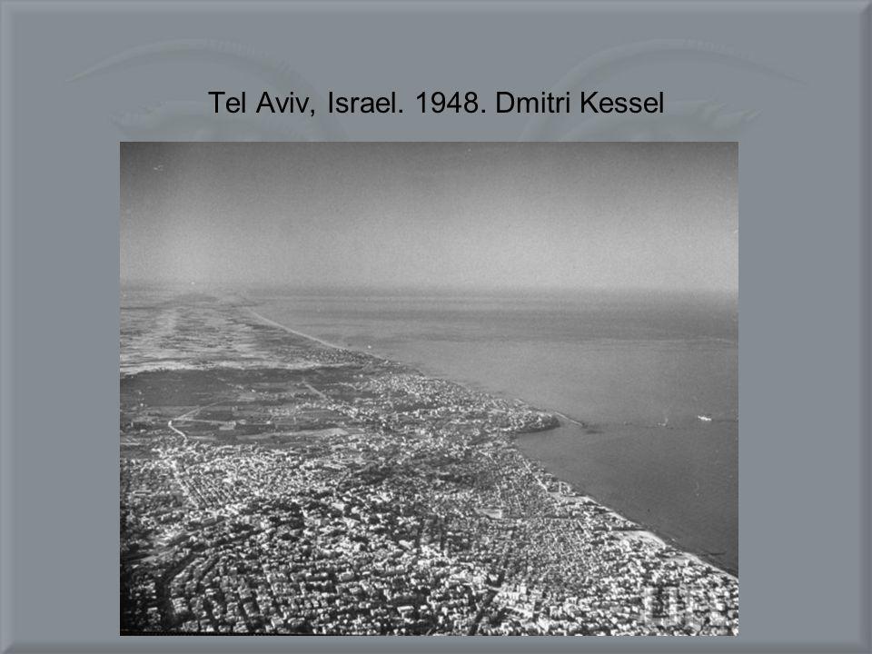 Tel Aviv, Israel. 1948. Dmitri Kessel