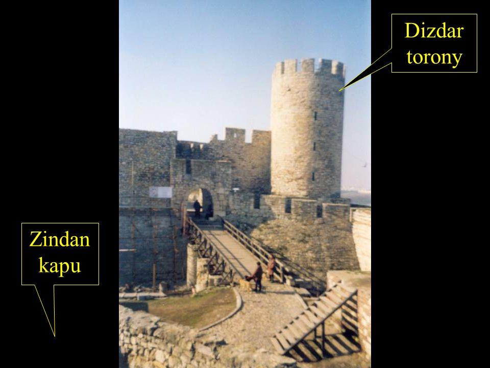 Dizdar torony Zindan kapu