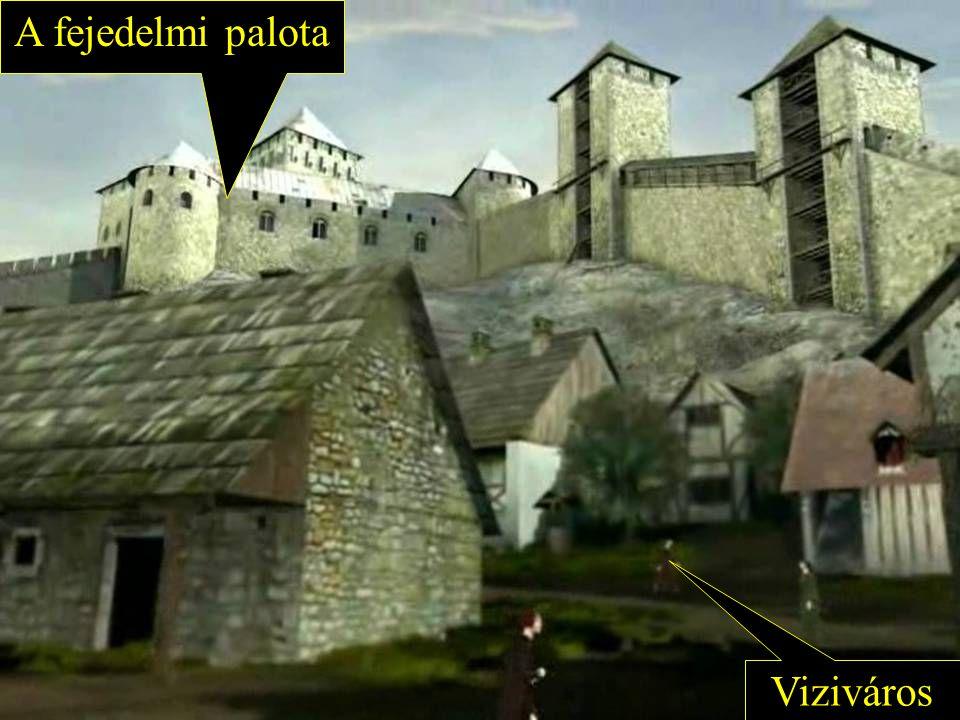 Viziváros A fejedelmi palota