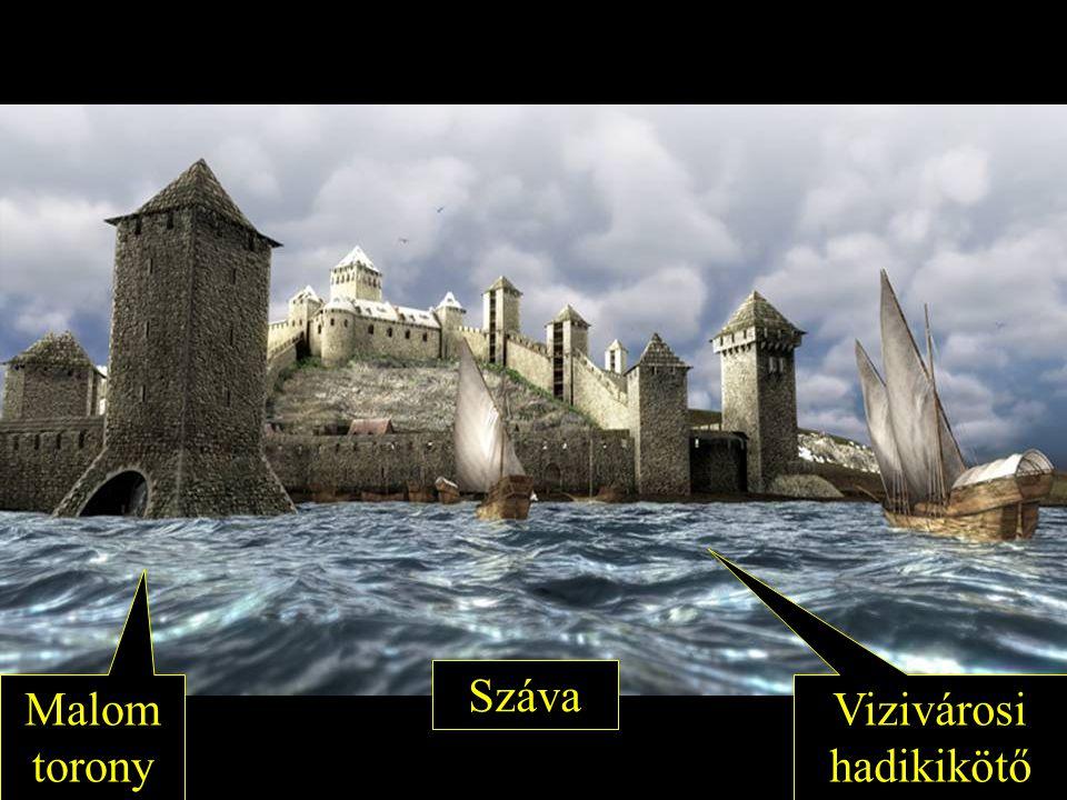 Malom torony Vizivárosi hadikikötő Száva